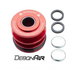 FORK SPRING SEALHEAD - 32MM DEBONAIR RED (REPLACES FLOATING SEALHEAD, BASEPLATE & WAVE WAS